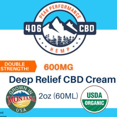 Deep Relief CBD Cream