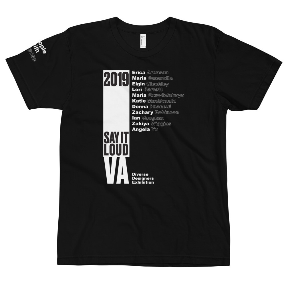 SAY IT LOUD - Virginia Winner WHITE Logo T-Shirt