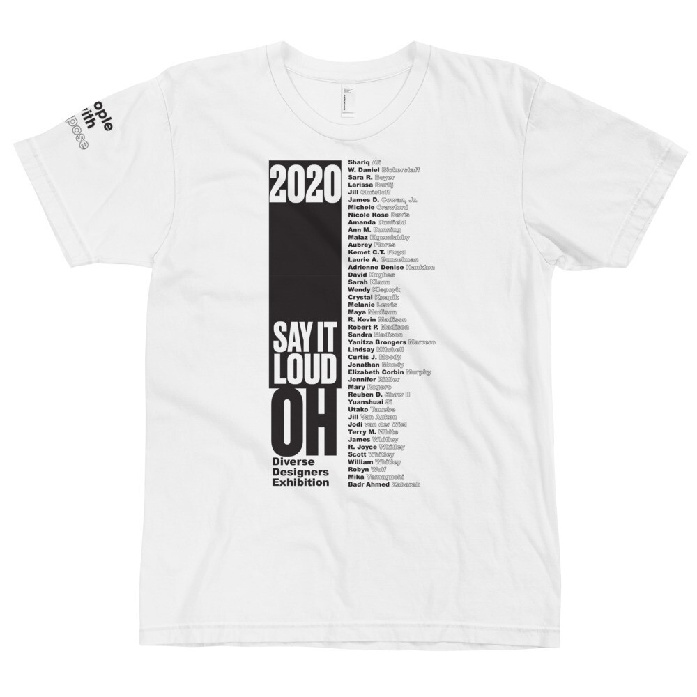 SAY IT LOUD - Ohio Winner BLACK Logo T-Shirt