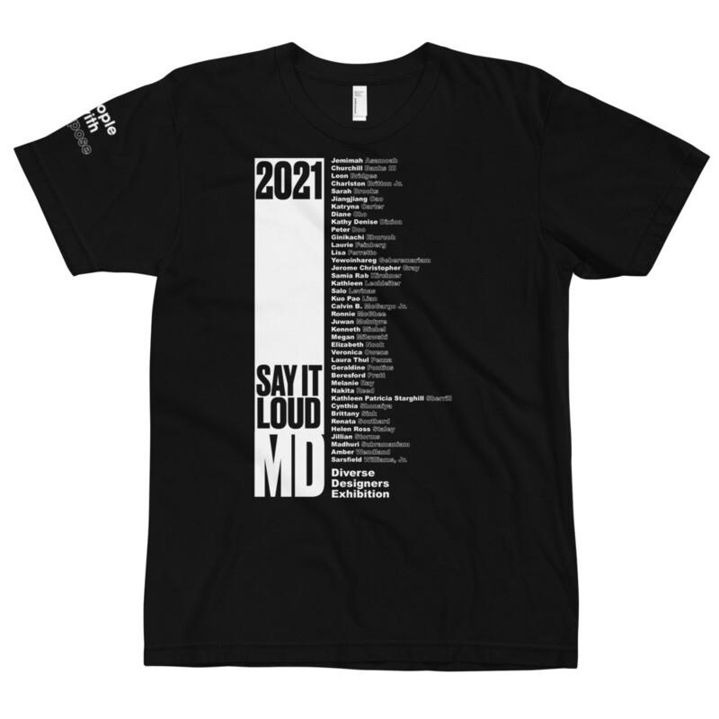 SAY IT LOUD - Maryland Winner WHITE Logo T-Shirt