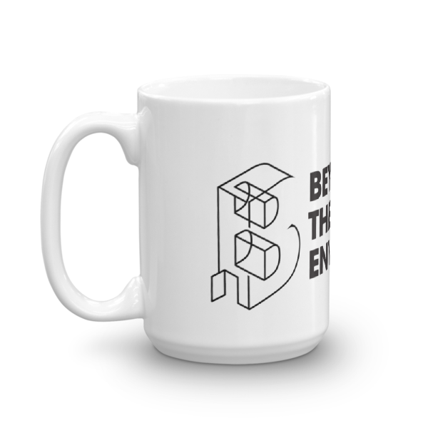 Beyond the Built Environment - WHITE Mug