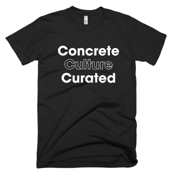 Concrete Culture Curated - WHITE Graphic T-Shirt
