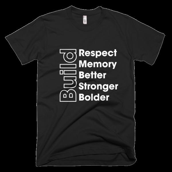 BUILD - WHITE Graphic T-Shirt