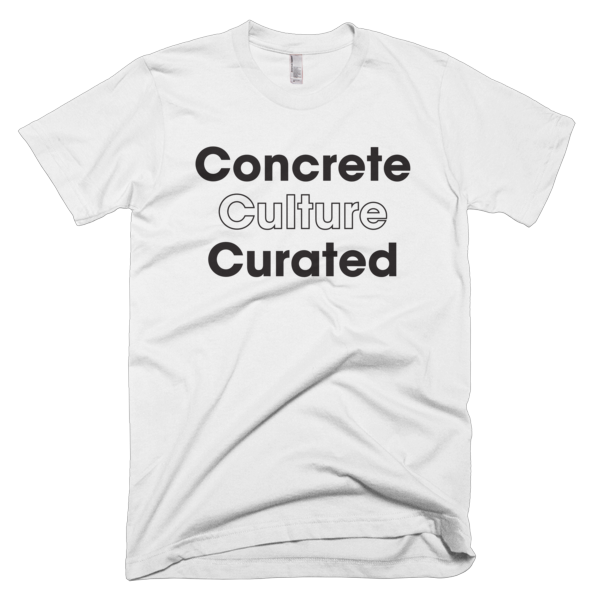 Concrete Culture Curated - BLACK Graphic T-Shirt