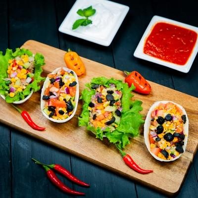 Min Veggie Bowl Tacos