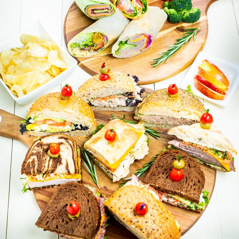 Assorted Sandwich & Wraps