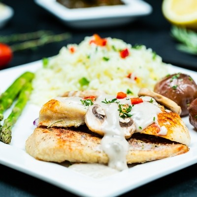 Chicken Breast with Mushroom Sauce