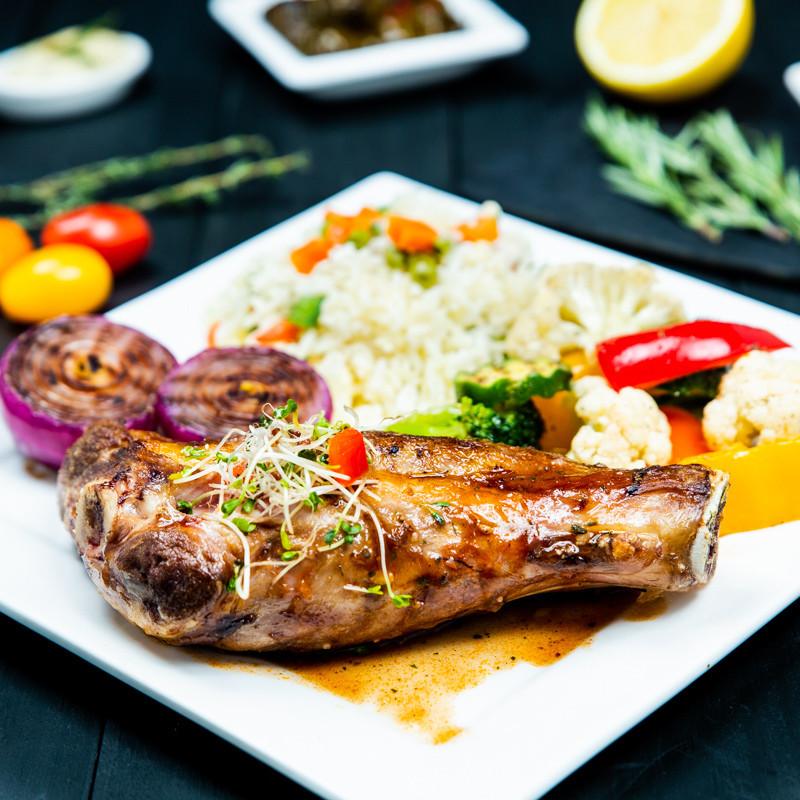 Halal Lamb Shank