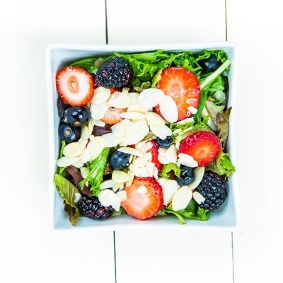 Strawberry Mixed Green Salad