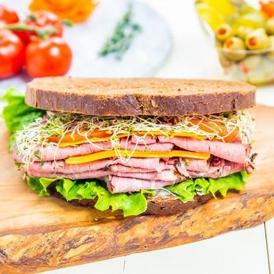 Corn Beef Sandwich