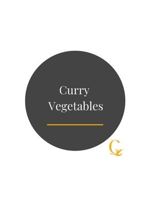 Curry Vegetables white rice
