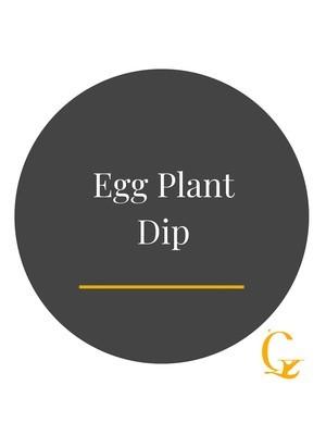 Egg Plant Dip