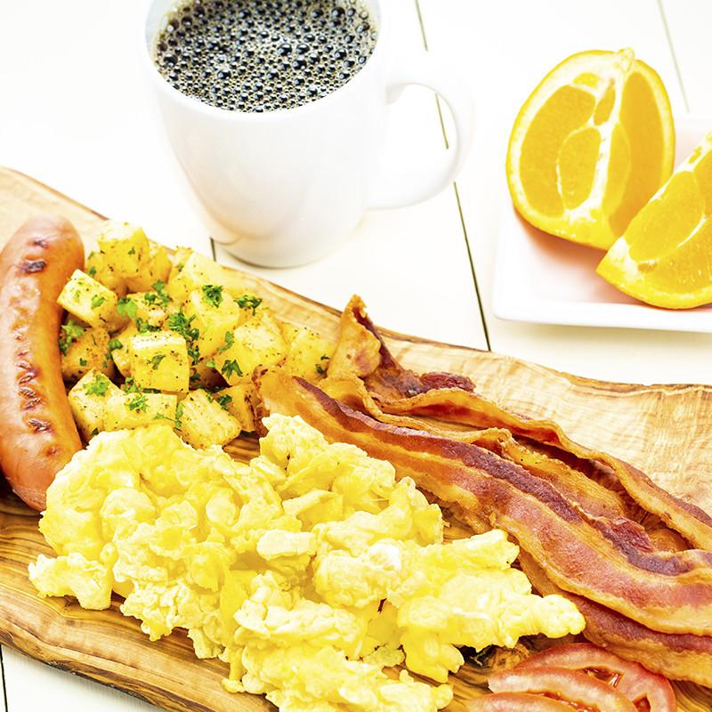 Golden Buffet-Style Hot Breakfast