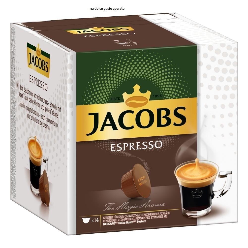 Jacobs kapsule espresso za dolce gusto