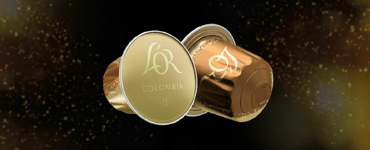 nespresso kompatibilne kapsule Lor COLOMBIA