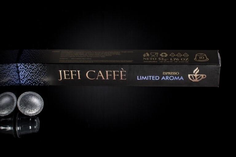 LIMITED AROMA NESPRESSO JEFI CAFFE