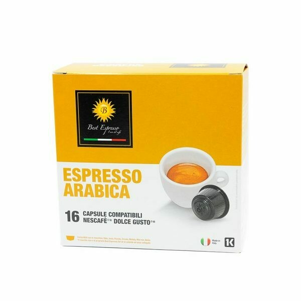 Arabica kapsule Dolce Gusto compatible