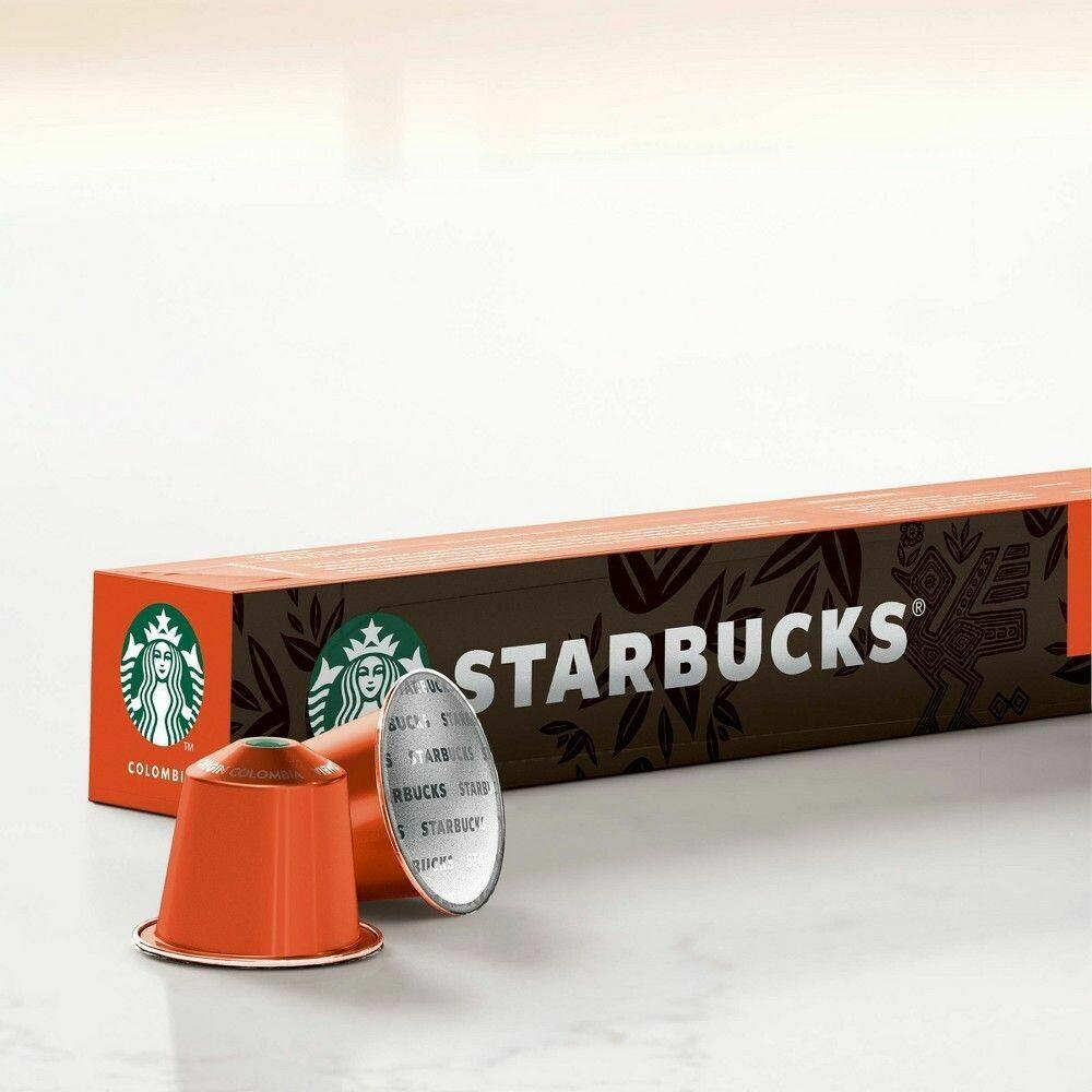 Starbucks nespresso columbia