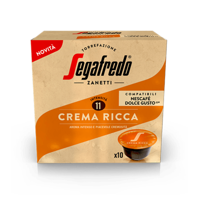 Segafredo Zanetti Crema Ricca