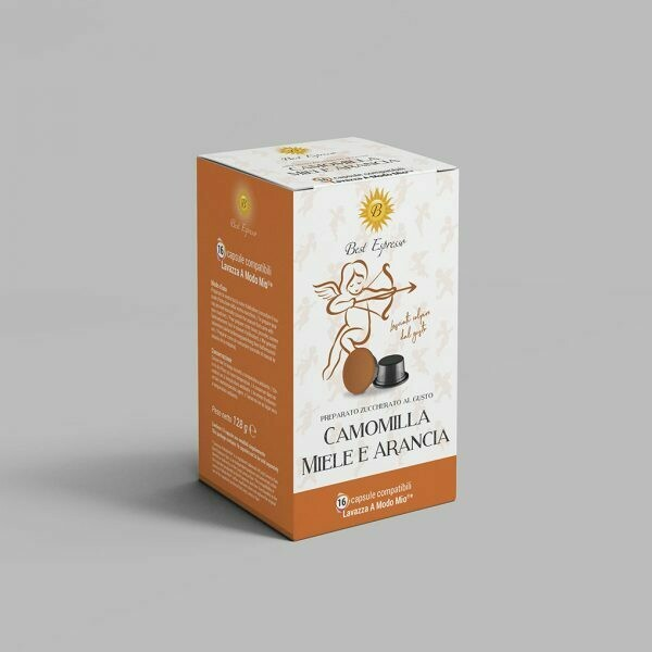 Lavazza A modo mio čaj kamilica,med pomorandža