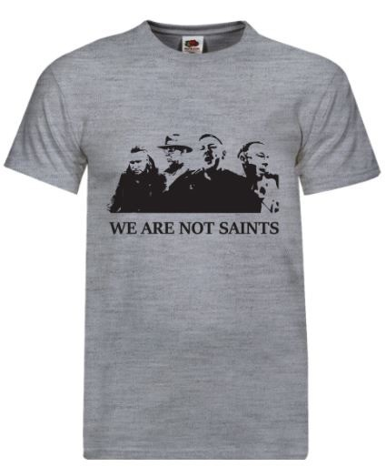 We Are Not Saints - The first four t-shirt (Limited Edition)