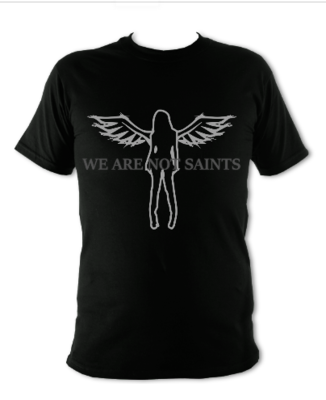 We Are Not Saints Logo T-Shirt