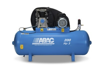 Abac PRO A39B 200 FM3      200Litre Tank Stationary compressor 240v 16amp (Suitable for the P50cnc)