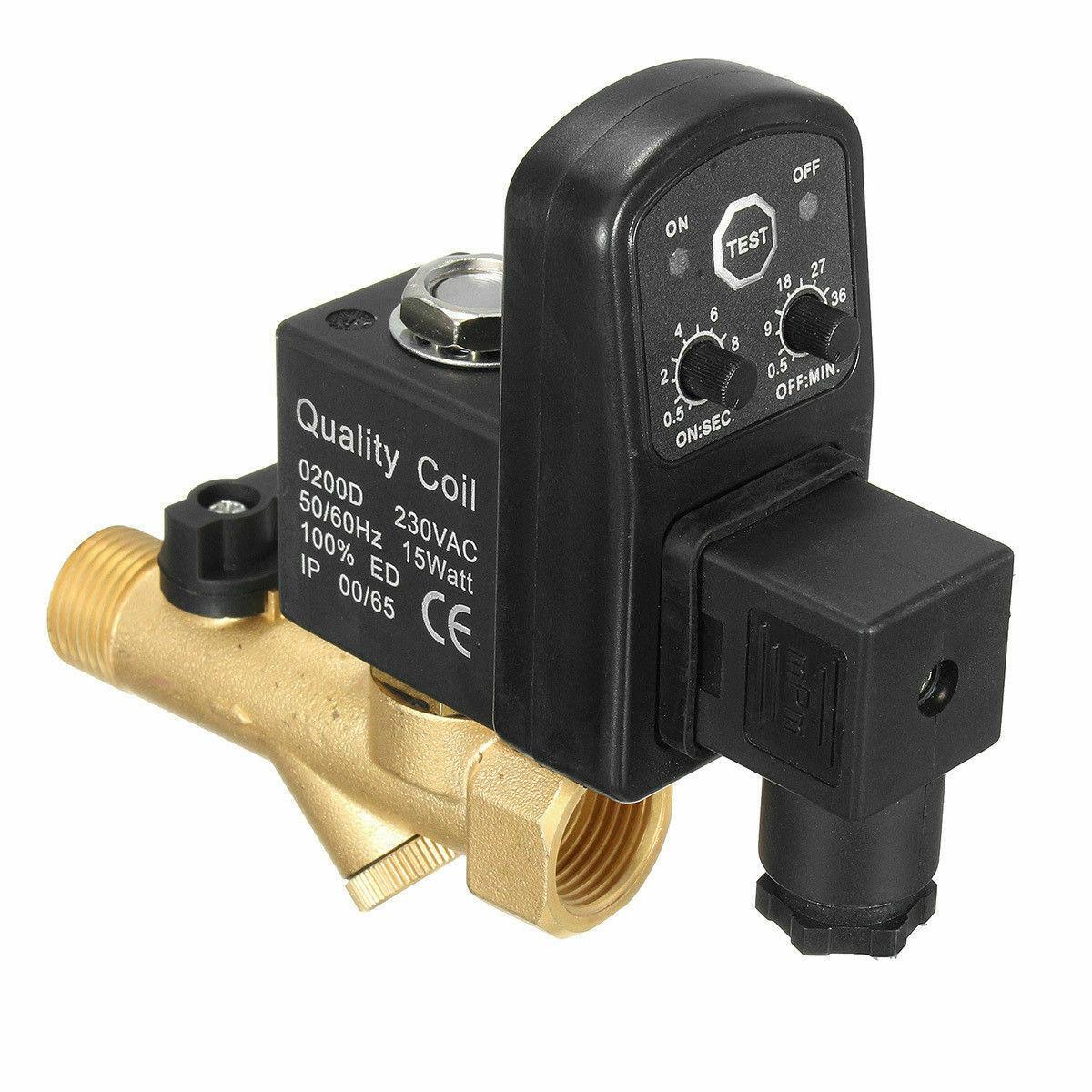 AutoDrain For Compressor 1/2BSP