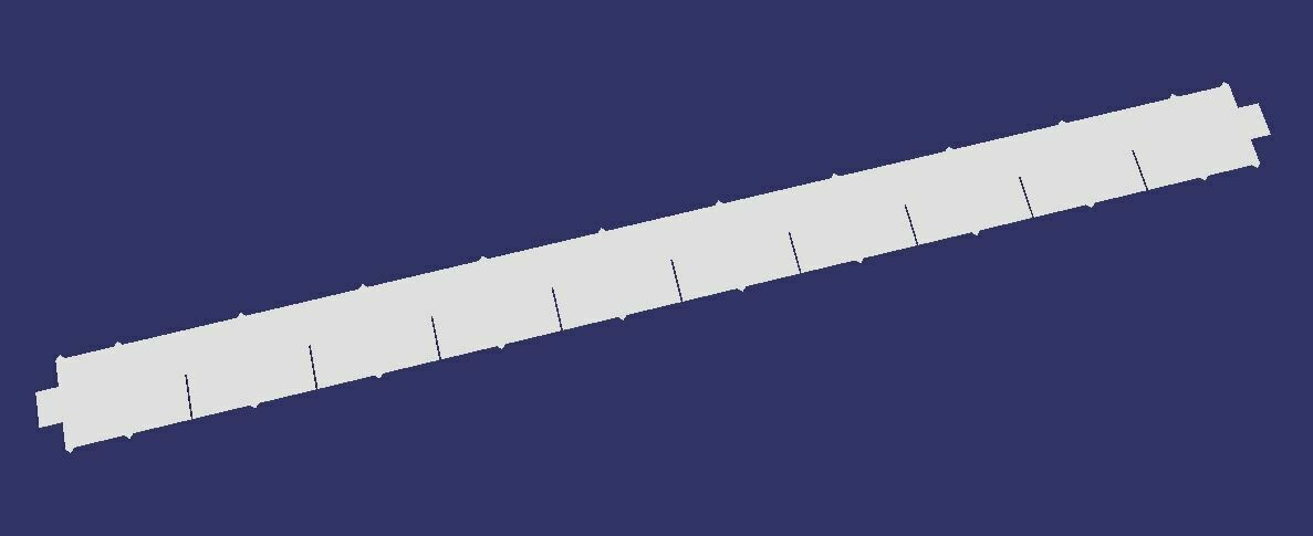 2x2 slat kit (6 pieces)