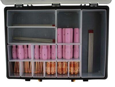 66 piece DC TIG Welding Consumable Kit WP17/18/26