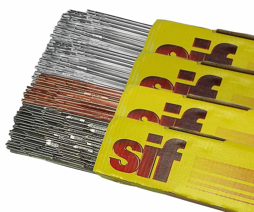 TIG Welding Filler Rods - 12 x 1kg MULTI-VALUE PACK, 5356, 4043A, 316L and A15
