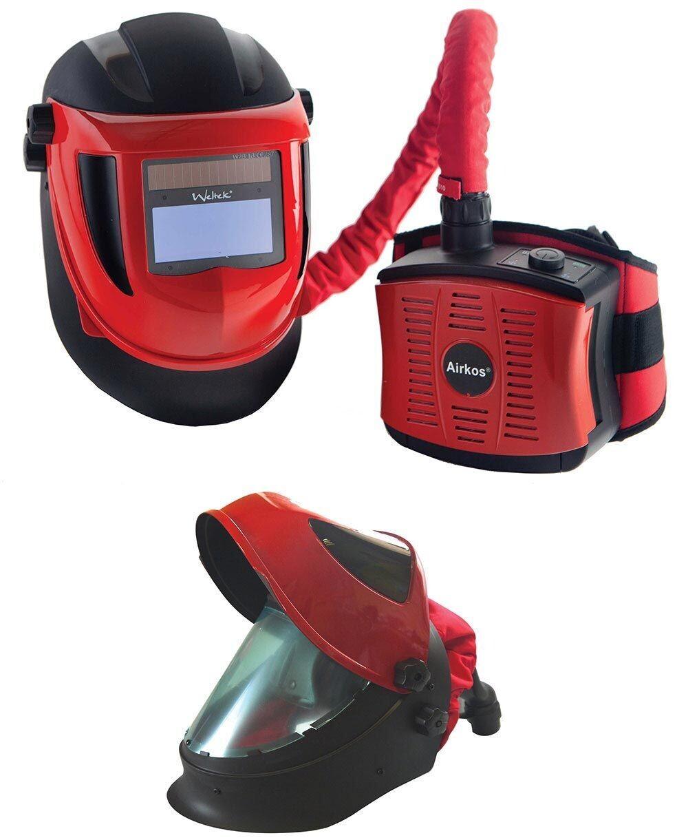 Weltek Navitek S4 Air Fed Auto Welding Helmet - RPE Fume Extractor