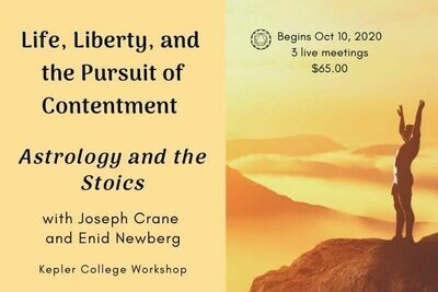Life, Liberty, and the Pursuit of Contentment: Astrology and the Stoics wkjc101020