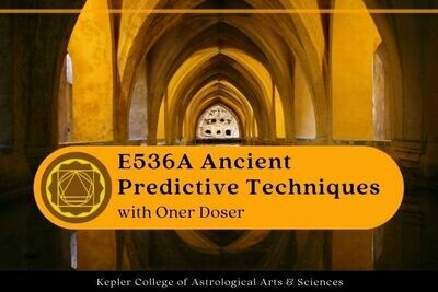 E536A Ancient Predictive Techniques and Applications - Öner Döşer cc5-E536A