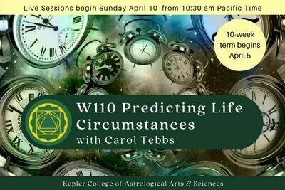 W110 Fundamentals V: Predicting Major Life Circumstances cc-W110