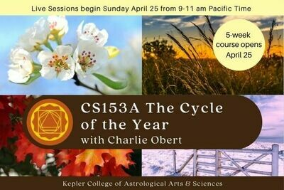 CS153A The Cycle of the Year: Predictive Astrology cc5-CS153A
