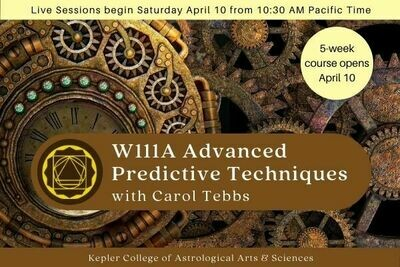 W111A Advanced Predictive Techniques: Relocation, Planetary Returns, Synodic Cycles and More cc5-W111A