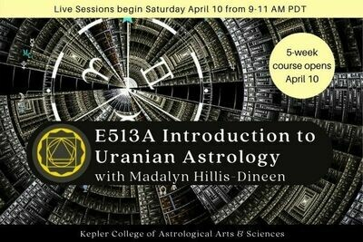 E513A Introduction to Uranian Astrology cc5-E513A