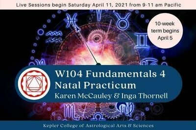 W104 Fundamentals IV: Natal Practicum cc-W104