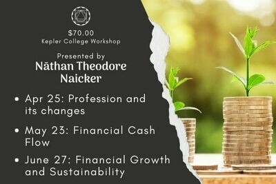Nāthan Theodore Naicker: All 3 Workshops - Astrological Indicators for Financial Dynamics (April 25, May 23, June 27) wkntn2021-3