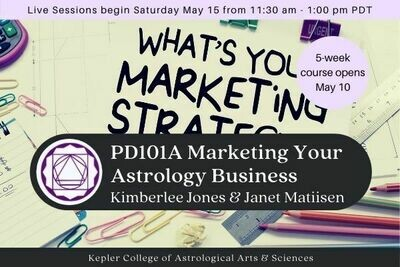 PD101A Marketing Your Astrology Business cc5-PD101A