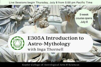 E305A Astro-Mythology: An Introduction cc5-E305A