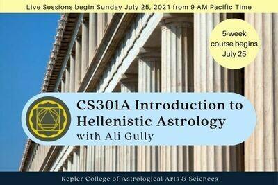 CS301A Introduction to Hellenistic Astrology cc5-CS301A