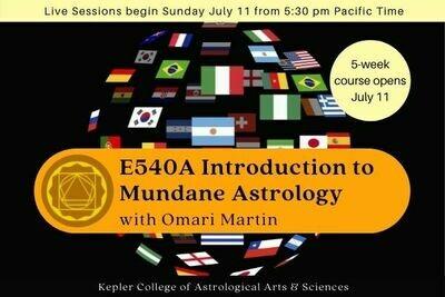 E540A Introduction to Mundane Astrology cc5-E540A