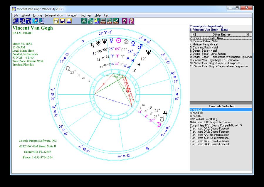 Cosmic Patterns: Pegasus UPGRADE