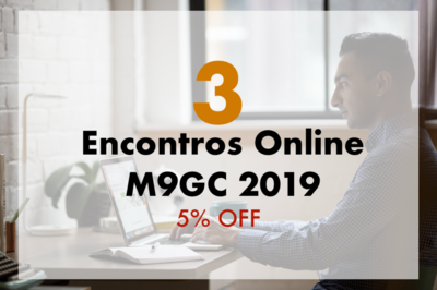 Pacote com 3 Encontros Online M9GC 2019