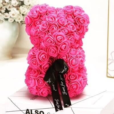 Rosette Bear Pink Color