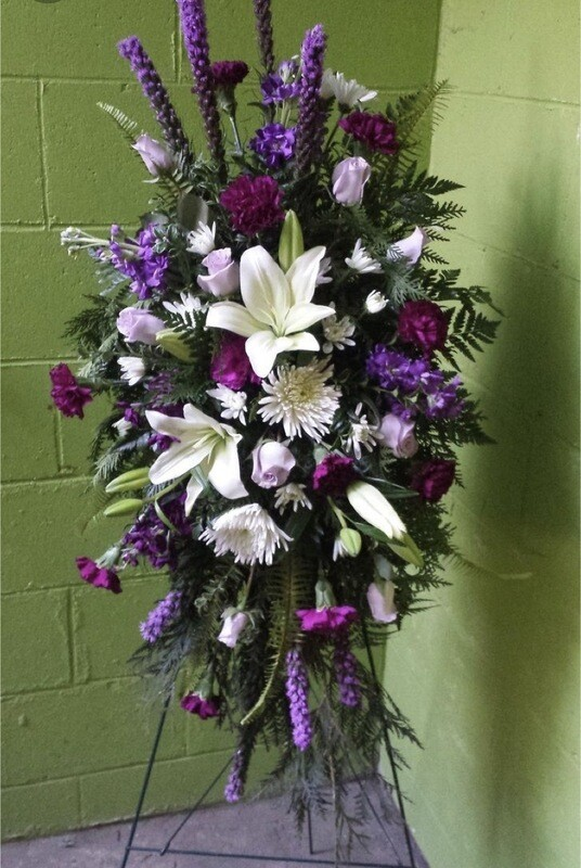 Standing Spray Flowers #1