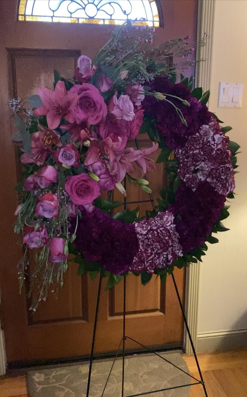 Wreath Purple