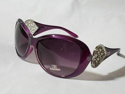 Designer Glamour Eyewear Heart Sunglasses